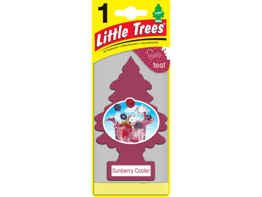 PINO AROMATICO LITTLE TREES U.S.A. - SUNBERRY COOLER 24 UNIDADES